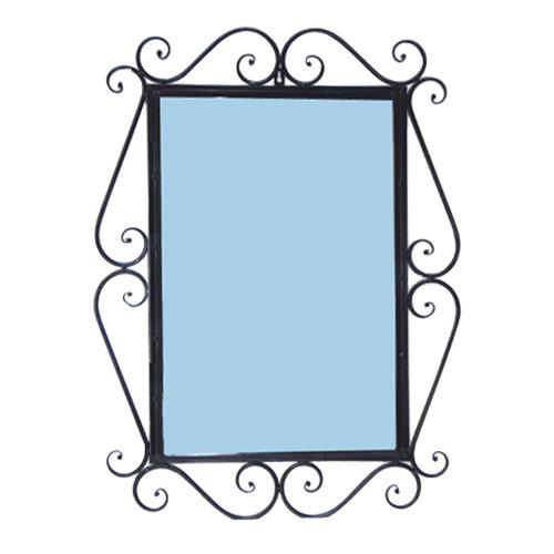 洗面鏡 おしゃれ アイアン インテリア 横550 縦750 INK-1401099H