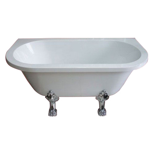 猫足バスタブ(置き型・アンティーク風浴槽・ディスプレイ)  サイズW1500×D750×H640  INK-OMS803-O