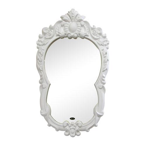 おしゃれ鏡(ポリウレタン装飾・壁掛け・ミラー・洗面鏡) INK-PUK1007