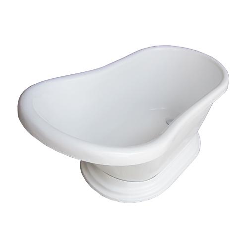 台座バスタブ(INK-0201022H・置き型・浴槽・お風呂) サイズW1200×D650×H610 INK-0203022H