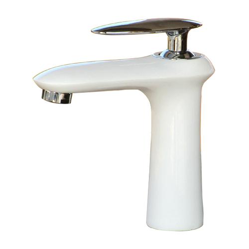 混合水栓(蛇口 水栓金具)白・ホワイト  INK-0303120H