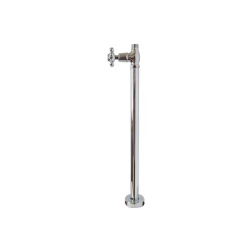 床給水用ストレート止水栓 (銀・シルバー) INK-0304031G