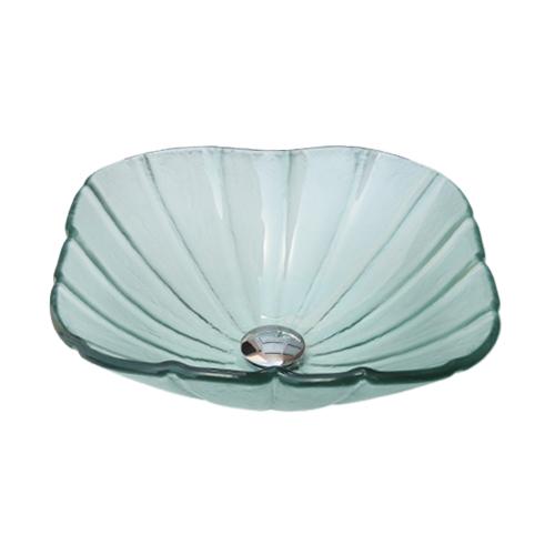 -セール-ガラス洗面ボウル(おしゃれな手洗器、手洗い鉢、洗面ボール、洗面台) INK-0404005H