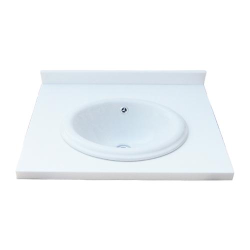 洗面ボウル 天板 セット 洗面台 人工大理石W600×D465×H80 INK-0504121H
