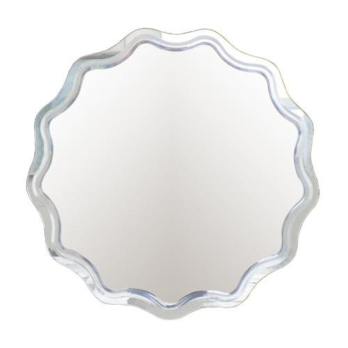 鏡 ミラー 洗面鏡 壁掛け W590×H585×T5 INK-0701017H