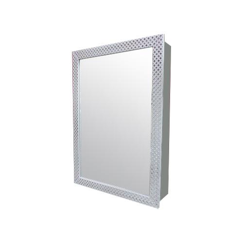 ミラーキャビネット おしゃれ 鏡 洗面化粧台棚 収納鏡 W500 INK-0702003G