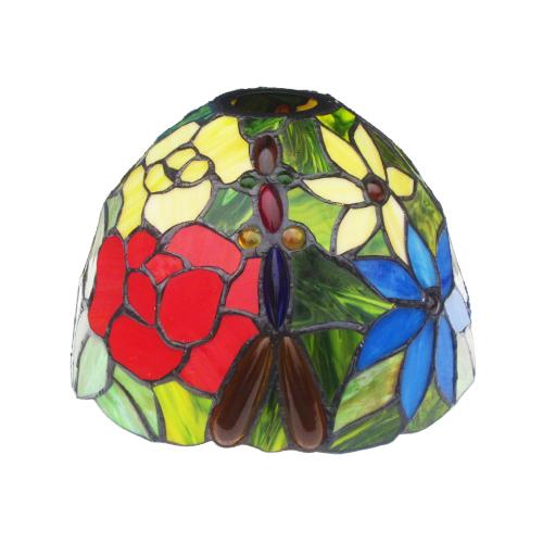 灯具が選べるステンドグラスランプ (ライト・おしゃれ・インテリア) INK-1004007H