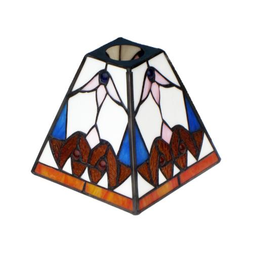 灯具が選べるステンドグラスランプ (ライト・おしゃれ・インテリア) INK-1004010H