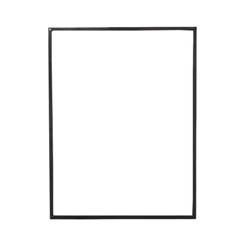 アイアンフレーム(鏡・枠・パーツ・装飾・フラット・ストレート) W655×H855×T16 INK-1401281H