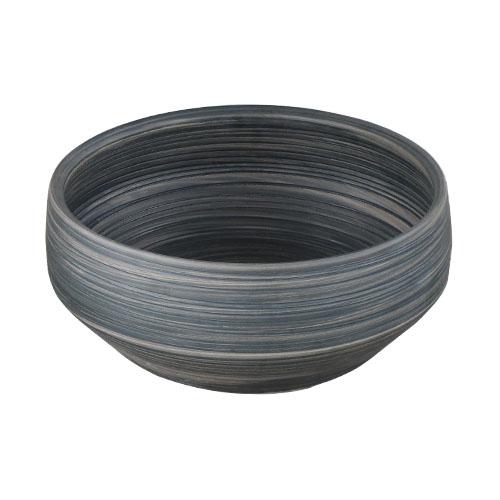 洗面ボウル 陶器 石鉢風 置き型(オンカウンターシンク)オーバーフロー無し W400×D400×H150 | 品番INK-0403347H