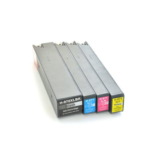 HP970+971XL(4色マルチパック大容量) HP用 互換 インク カートリッジ ヒューレット・パッカード hp用【インク革命】