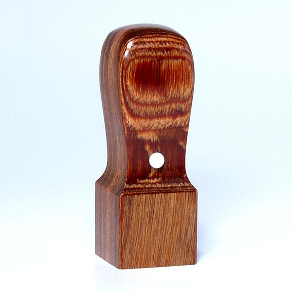 落款印(姓名印・氏名印)[職人彫り]彩樺・角天丸・印面約21x21mm・長さ約60mm・ケース別売り