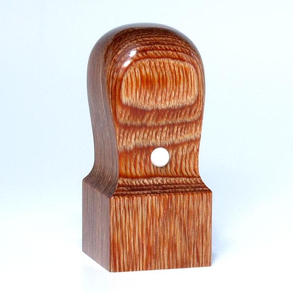 蔵書印[職人彫り]・彩樺・角天丸・印面約27x27mm・長さ約60mm・ケース別売り