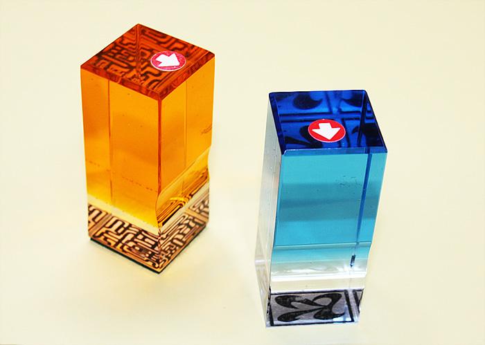 本格志向の落款印 手彫り趣味の印鑑 登場大人気アイテム 奉呈 陶芸用落款印 樹脂製 12ミリ