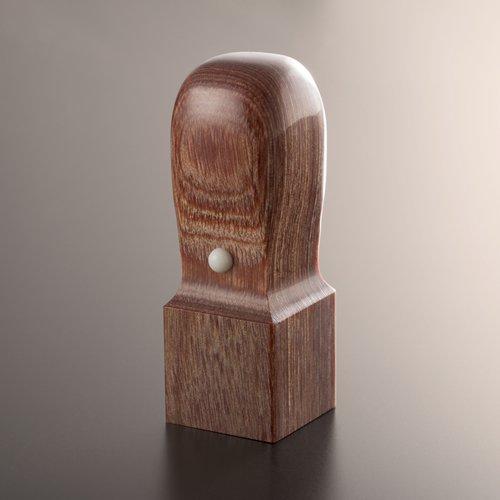 新着 甲府の職人による手彫り印鑑 法人印鑑 角印 匠の完全手彫り印鑑 国産品 角天丸 21mm ケース別売 彩樺