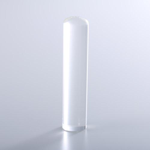 水晶(クリスタル)の銀行印/13.5mm/ケース別売