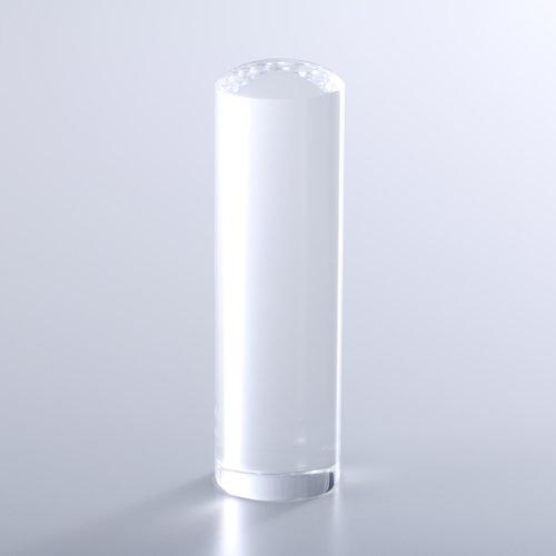水晶(クリスタル)の実印/18mm/ケース別売