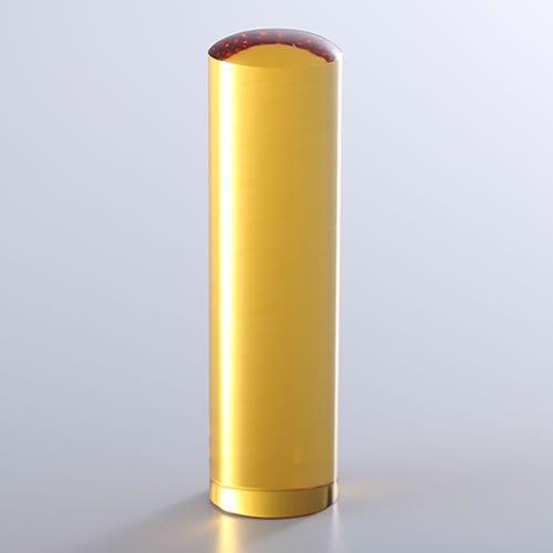 黄水晶(シトリントパーズ)の銀行印/16.5mm/ケース別売
