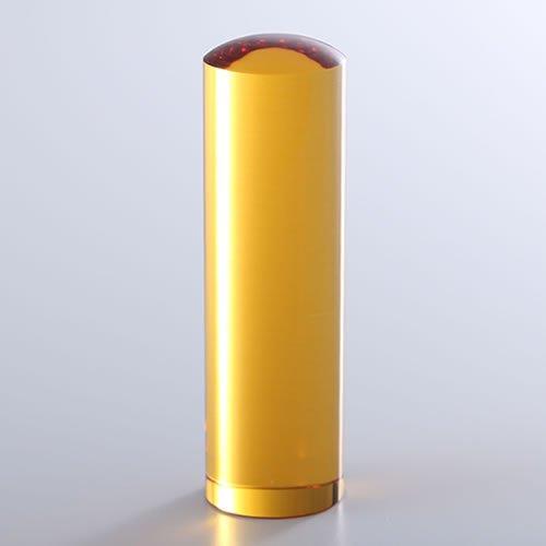 黄水晶(シトリントパーズ)の実印/18mm/ケース別売