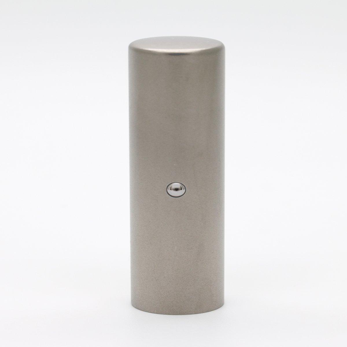 先生印/資格印/職印/ブラストチタン/丸寸胴(アタリ付き)/21mm/ケース別売