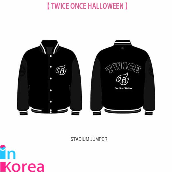 TWICE スタジアム ジャンパー / K-POP TWICE ONCE HALLOWEEN OFFICIAL GOODS STADIUM JUMPER トゥワイス 公式グッズ