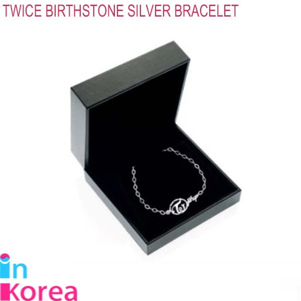 【取寄】TWICE BIRTHSTONE SILVER BRACELET (TWICE JEWELRY COLLECTION LIMITED EDITION)(メンバー別選択) / K-POP 公式 TWICE GOODS トゥワイス ブレスレット