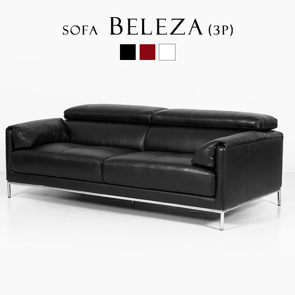 Take three genuine leather sofas, and hang three reception low sofa high  quality genuine leather leather tension high back leather white red black;  3P ...