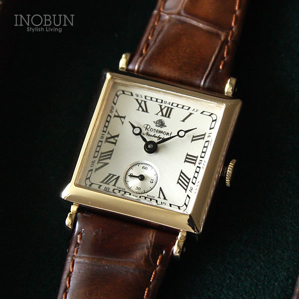 ロゼモン 腕時計 Nostalgia Rosemont N011-YWR DLB