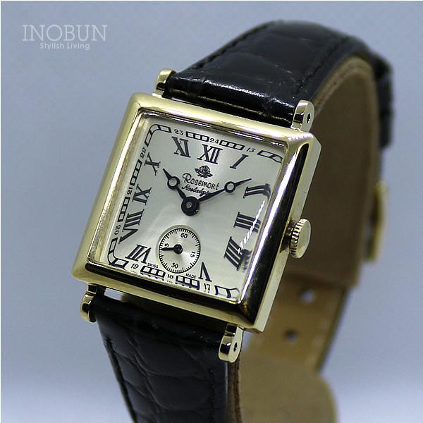 ロゼモン 腕時計 Nostalgia Rosemont N011-YWR BBK
