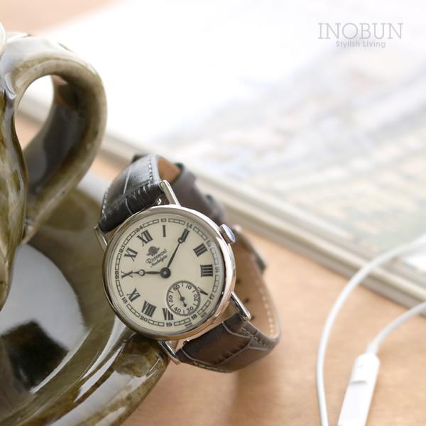 ロゼモン 腕時計 Nostalgia Rosemont N008-SWR EGY シルバー/グレー(ベルト)