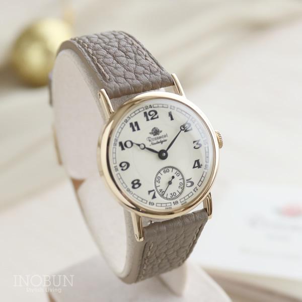 ロゼモン 腕時計 Rosemont Nostalgia Collection N008-YWA FGB アンティークGD/グレーベージュ