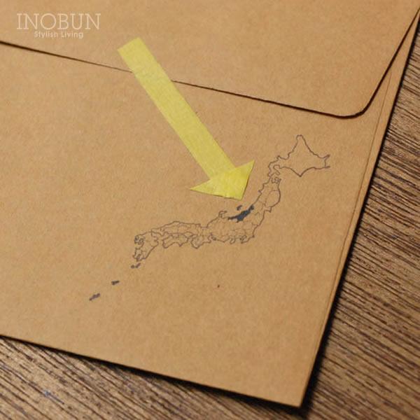 アルバムにスタンプして 訪れた都道府県を塗りつぶして 日本白地図 ◆セール特価品◆ スタンプ 水縞 安心の定価販売