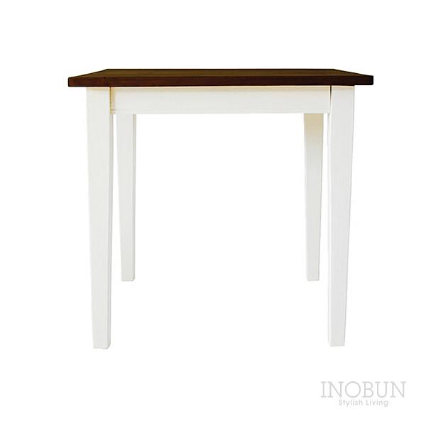 mam (マム) cresson dining table (クレソンダイニングテーブル) 750 x 750 x 700mm ホワイト/カフェ