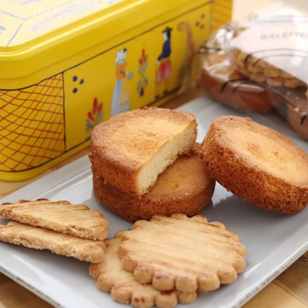 フランス産 ガレット・バタービスケット アンリオ缶 クッキー ル・ブルターニュ ギフト【あす楽対応】【メール便不可】