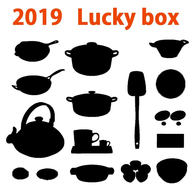 C【数量限定】LE CREUSET ル・クルーゼ2019 Lucky Box WC Set【ルクルーゼ福袋】(百貨店用)【数量限定】【福袋】【お楽しみ袋】【オススメ18】クーポン使用可★★