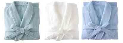 1秒タオル ホットマン ふふら:バスローブライト紳士用Mサイズ(着丈116cm胸囲112.5cm裄丈81cm)[Hotman]