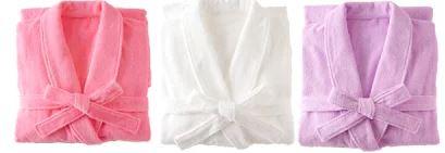 1秒タオル ホットマン ふふら:バスローブライト婦人用Lサイズ(着丈110cm胸囲112.5cm裄丈77.5cm袖口17.5cmベルト長176cm)[Hotman]