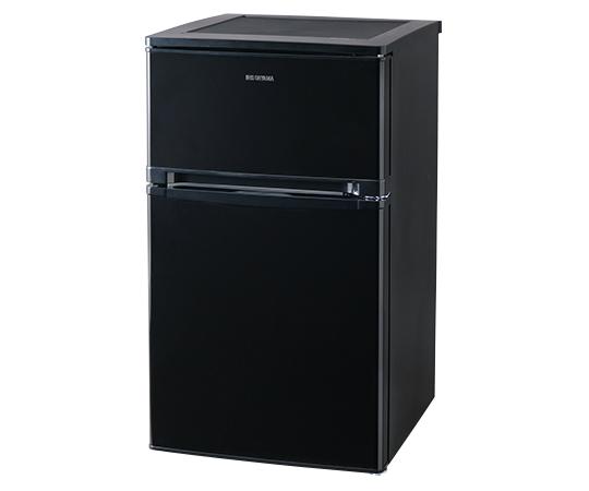 冷蔵庫 小型 2ドア 81L ノンフロン冷凍冷蔵庫 NRSD-8A-B送料無料 ひとり暮らし おしゃれ 2ドア冷蔵庫 小型冷蔵庫 ミニ冷蔵庫 静音 寝室 省エネ スリム 冷凍冷蔵庫 冷凍庫 家庭用 右開き 設置 一人暮らし 新品 大容量 新生活 アイリスオーヤマ