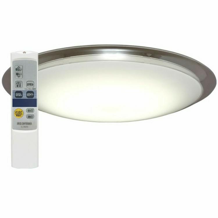 スマートスピーカー 照明 シーリングライト 12畳 google home mini GA00210-JP チョーク+LEDシーリングライト送料無料 調光 LED スピーカー LED照明 天井照明 シーリング おしゃれ 明るい リモコン付 子供部屋 寝室 リビング 和室 Amazon Echo アイリスオーヤマ