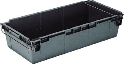 【リス】リス HB型コンテナーHB-120 グレー HB120【コンテナ・容器/ネスティングコンテナ/岐阜プラスチック工業/ネスティングコンテナ/HB型ネスティングコンテナ】【TC】【TN】