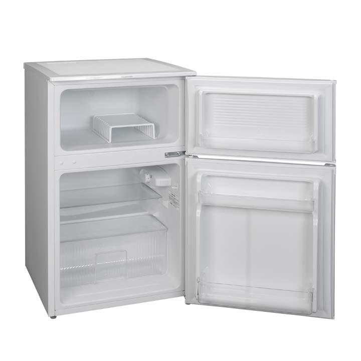 【楽天市場】《設置対応可能》冷蔵庫 小型 2ドア 90L 冷凍冷蔵庫 ...