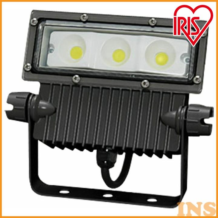 屋外LED照明 角型投光器37W IRLDSP37L2-W-BK 送料無料 屋外LED照明 角型投光器37W led ランプ ライト あかり 灯り IRLDSP37L2-W-BK アイリスオーヤマ
