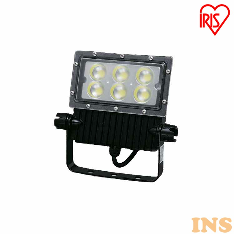 屋外LED照明 角型投光器63W IRLDSP63N2-M-BK 送料無料 屋外 LED 照明 led ランプ ライト あかり 灯り 明かり 明り 電気 アイリスオーヤマ