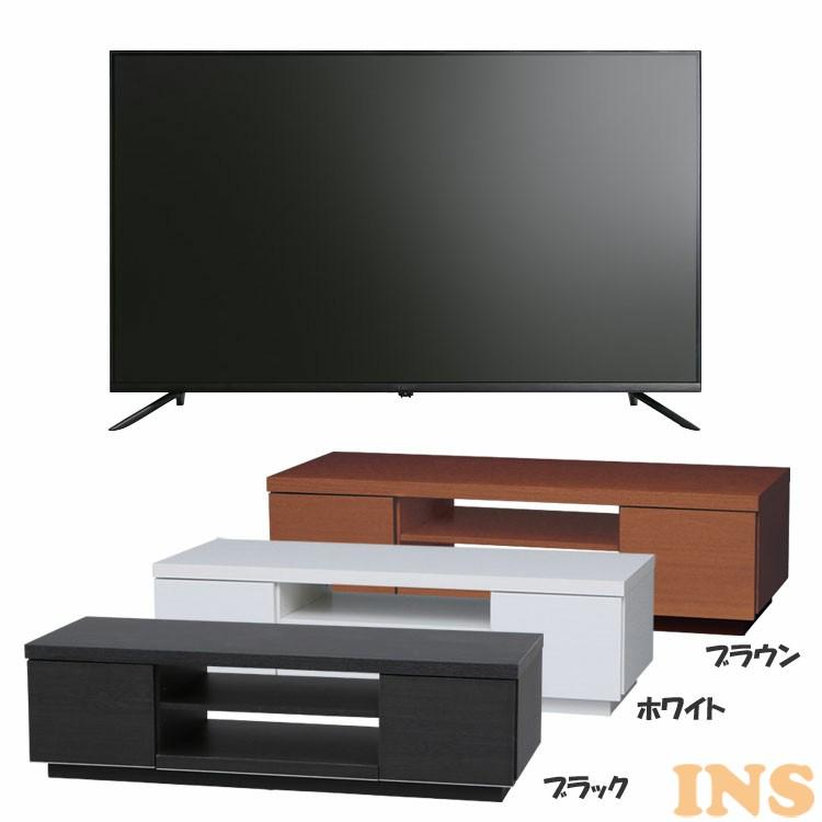 テレビ 4K 対応液晶テレビ ベゼルレス 43インチ Luca テレビ台 セット品 BAB150 送料無料テレビ テレビ台fgvym6IYb7