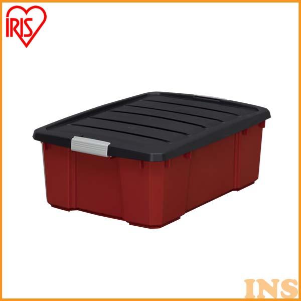 【送料無料】【お得な6個セット】バックルボックス NSK-430 ダークグレー/レッド 工具 収納 工具箱 工具ケース ツールボックス コンテナボックス プラスチック おもちゃ箱 おもちゃ収納 収納ボックス 小物 収納 アイリスオーヤマ P01Jul16