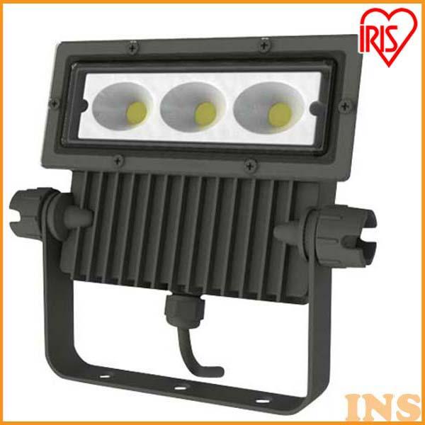 アイリスオーヤマ 屋外LED照明 角型投光器40W 2340lm IRLDSP40L-N-BK ブラック