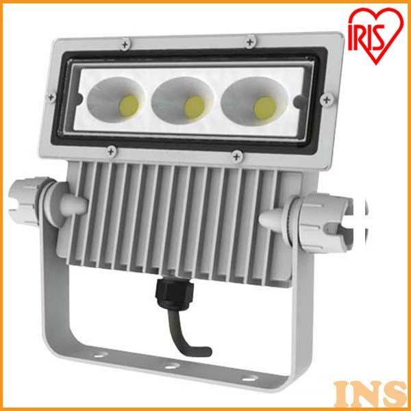 アイリスオーヤマ 屋外LED照明 角型投光器40W 2380lm IRLDSP40L-W-W ホワイト
