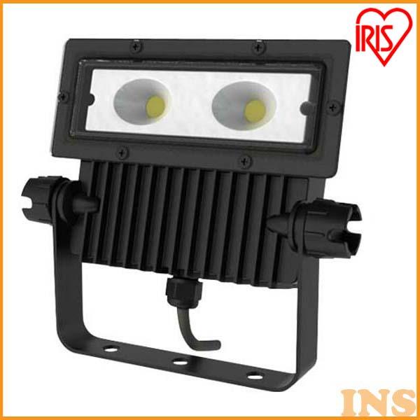 アイリスオーヤマ 屋外LED照明 角型投光器25W 2280lm IRLDSP25N-M-BK ブラック