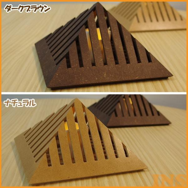 フレイムス Pyramid プラミッド LEDスタンドライト ナチュラル・ダークブラウン DS-082N・DS-082DB 【TD】【デザイナーズ照明 おしゃれ 照明 インテリアライト】【代引き不可】【送料無料】
