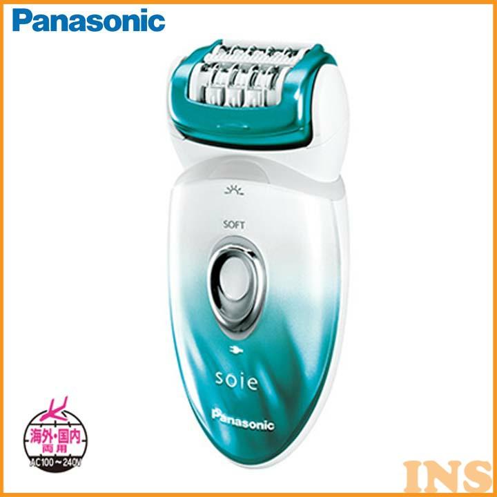 【脱毛器】脱毛器 ソイエ グリーン調【海外対応】Panasonic(パナソニック) ES-ED62-G【D】【DW】【送料無料】